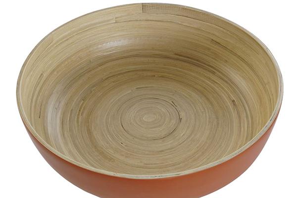 Bambus činija u boji 30x30x8,5