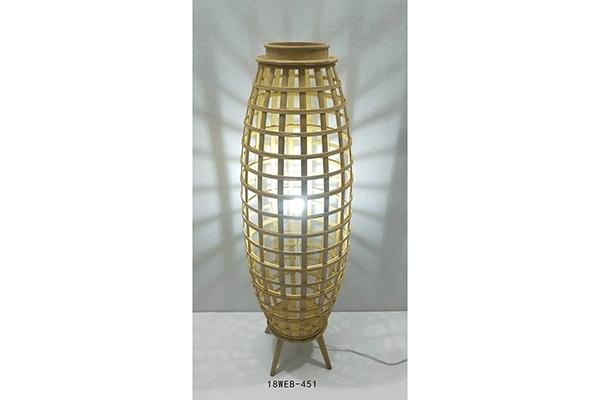 Bambus lampa duguljasta 32x32x97