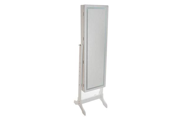 Bela kutija sa ogledalom 47x7x137