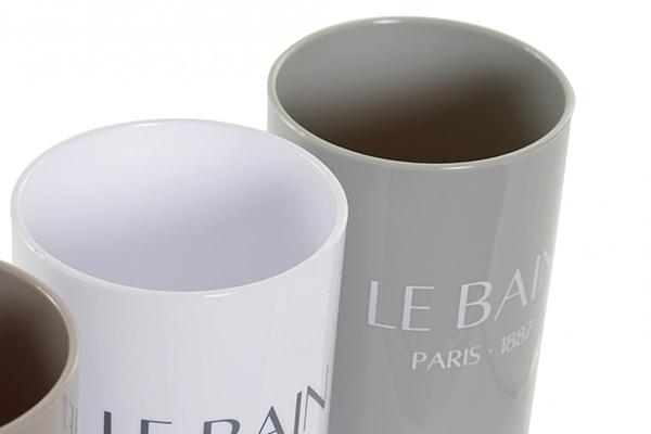 čaša za četkice pariz  7x7x11,5 337 ml, 3 modela