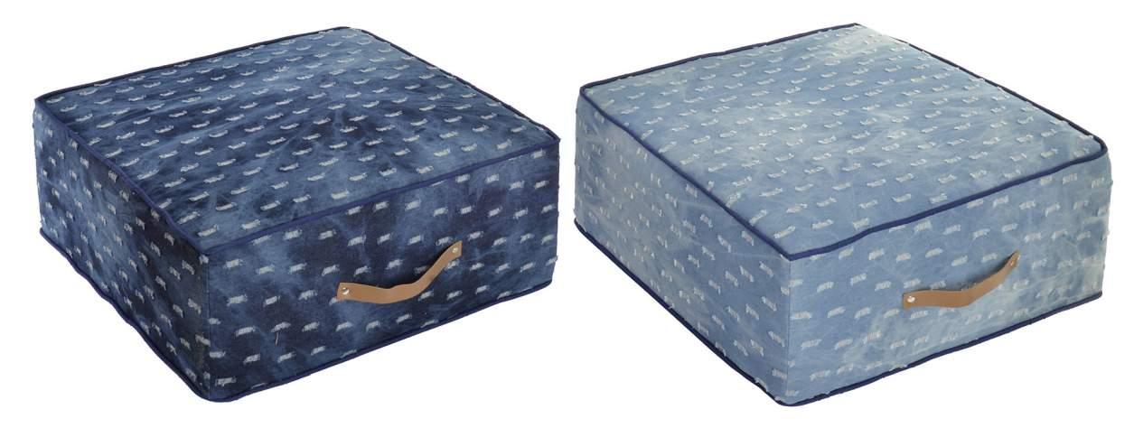 četvrtasti podni jastuk 55x55x24 2 boje