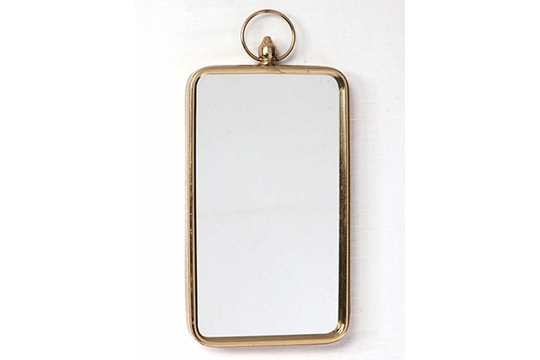 četvrtasto zidno ogledalo 27x3,5x56