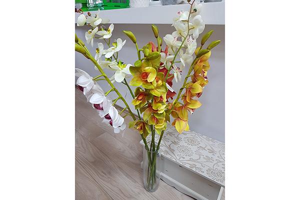Cvet orhideja 89 cm 4 boje