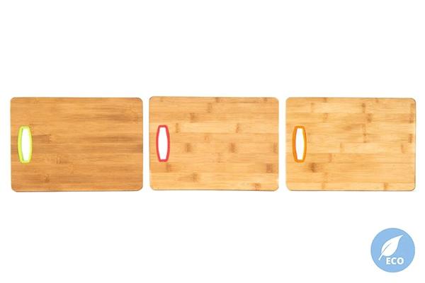 Daska bambus 28x20x1,5 3 boje