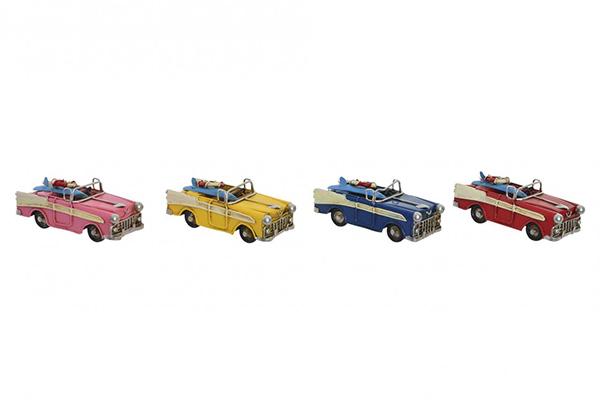 Dekoracija automobil u boji 11,5x4,7x4,5 4 modela