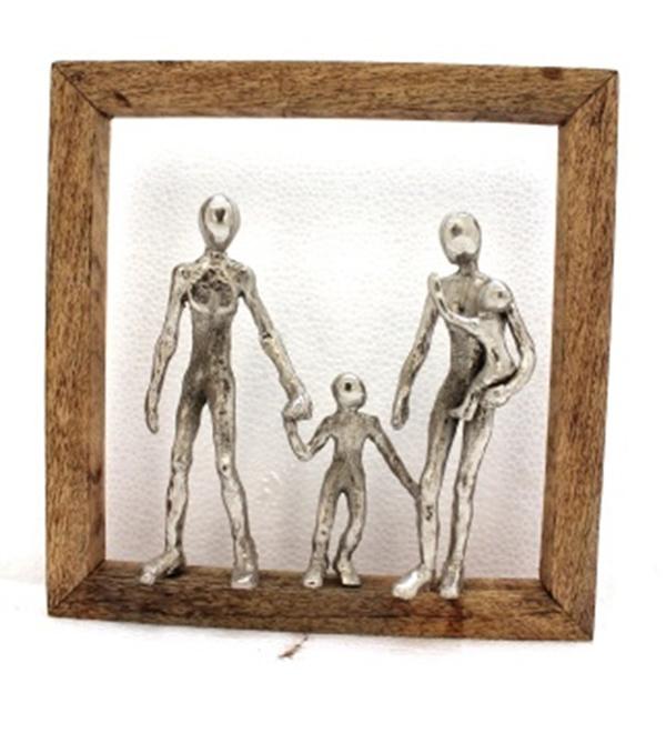 Dekoracija family 30,5x5x30,5