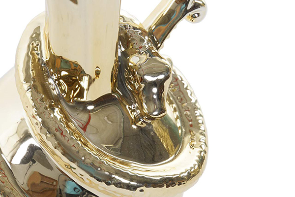 Dekorativni bokal snake golden 11x11x18