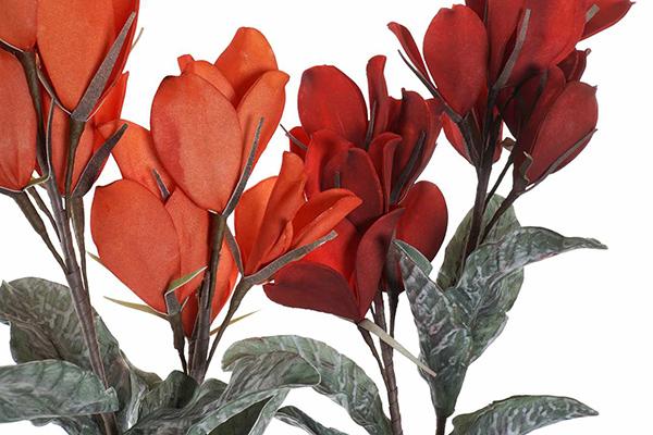 Dekorativni cvet 29x29x92 2 boje