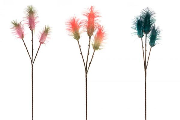 Dekorativni cvet u tri boje 25x105 3 boje