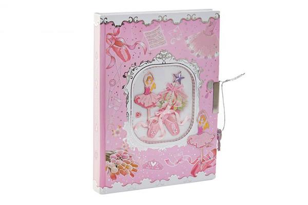 Dnevnik balerina 13,5x18x1,5