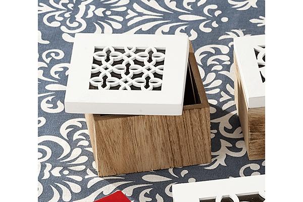 Drvena kutija nora 10x10x7,5