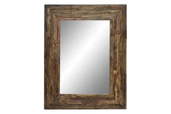 Drveno ogledalo trunk 76x4x101,5
