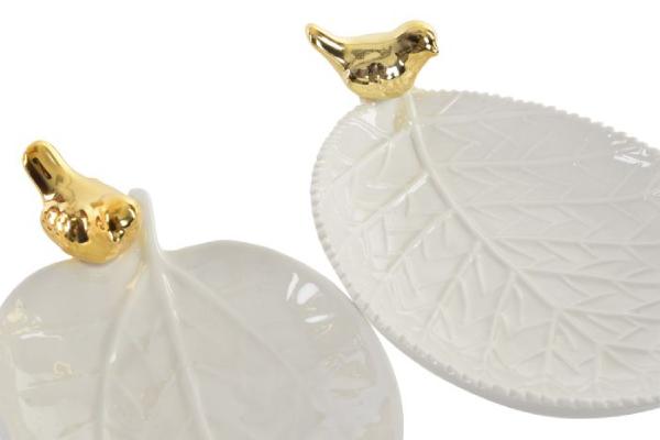 Držač nakita zlatna ptica 18x11x3 2 modela