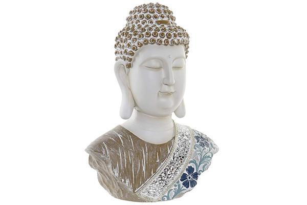 Figura  buddha head 23,5x12,5x30,5