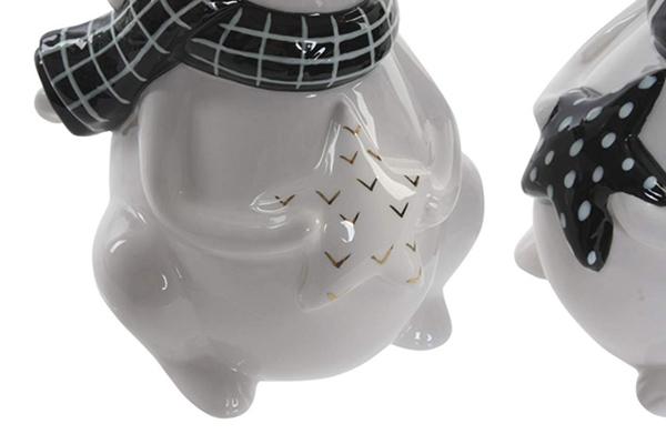 Figura crno beli miš 10,5x9,7x17,3 2 modela