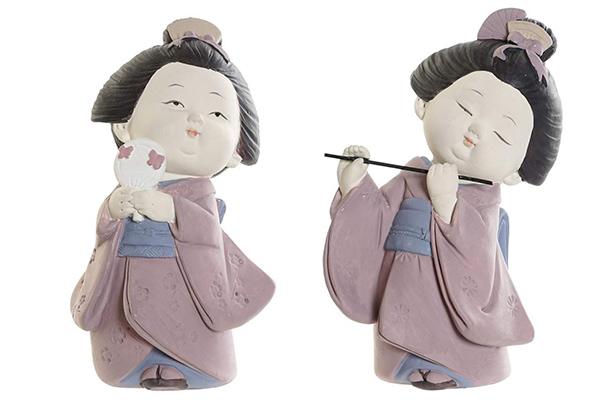 Figura gejša 7x7,5x12,5 2 modela