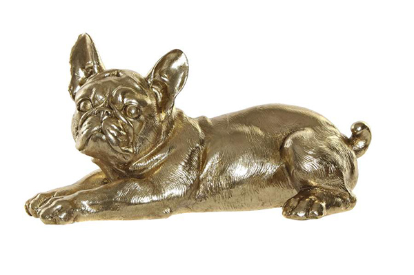 Figura golden buldog 31,5x17x16