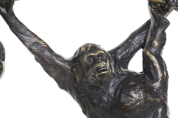 Figura gorila 37x15x34