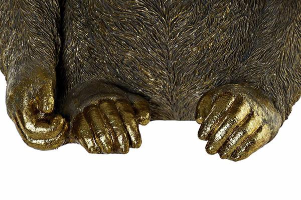 Figura gorila golden 39x30x41,5
