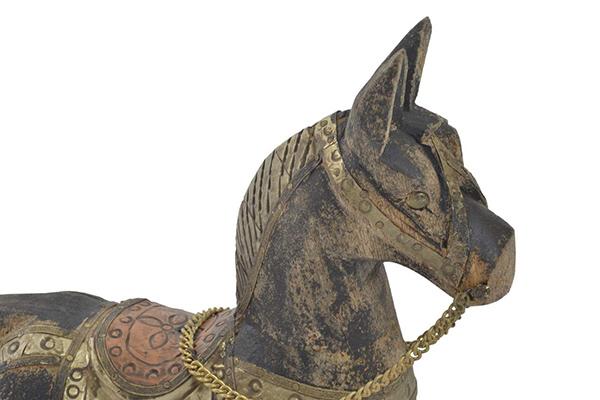 Figura horse aged grey 32x9x34