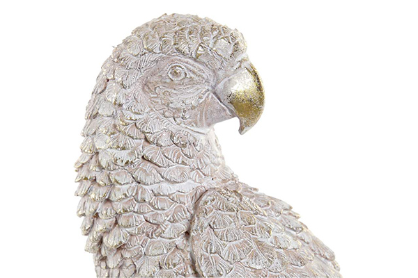 Figura papagaj golden 15x10x45
