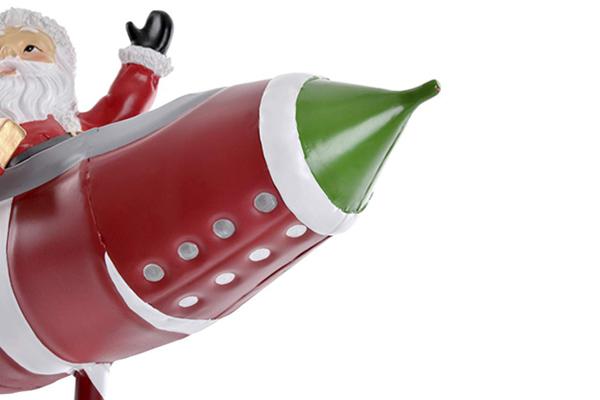 Figura rocket red 30x30x55