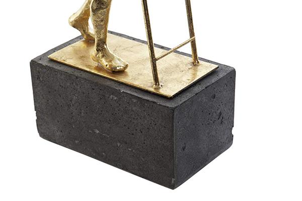 Figura stairs golden 16,5x20x70