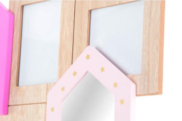 Foto ram roze kućice 40x32x2