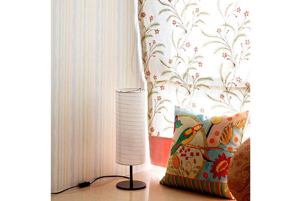 Holmo lampa manja 46cm bela, stone lampe