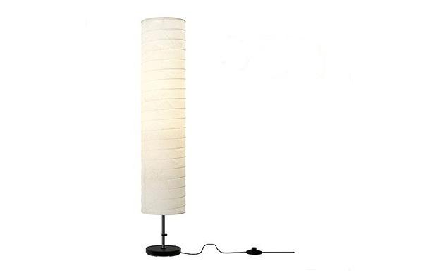 Holmo lampa veća 116cm bela, podne lampe