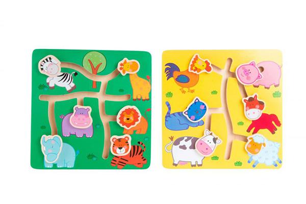 Igra animals 22,5x22,5x1,3 2 modela