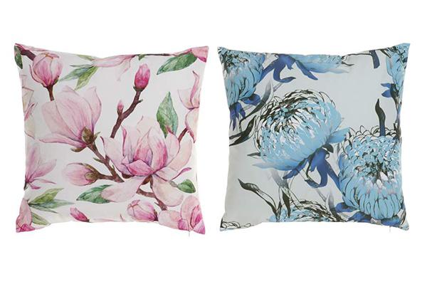 Jastuk roze i plavo cveće 40x10x40 400 gr