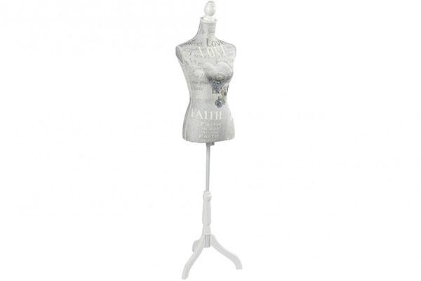 Krojačka lutka heart 37x23x168