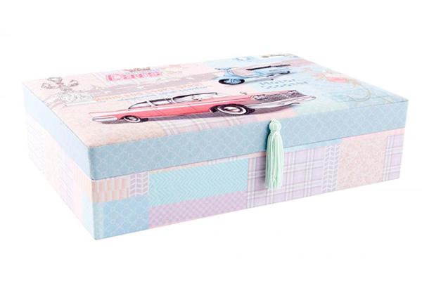 Kutija za nakit motiv automobil 30x20x8