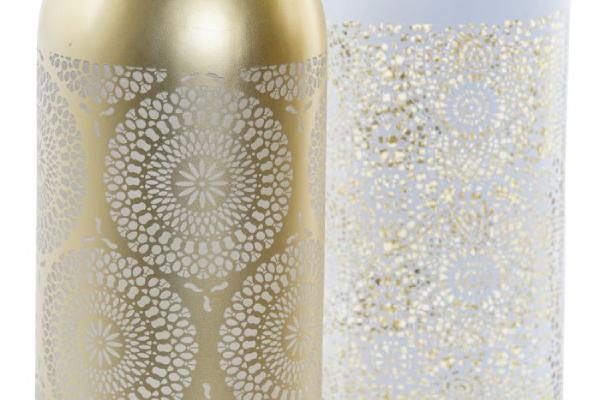 Led boca golden mandala 9,2x9,2x34 5l 2 modela
