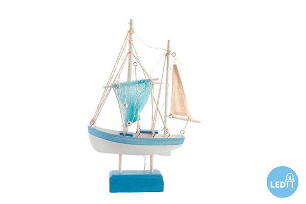 Led dekoracija brod 21x5,5x32