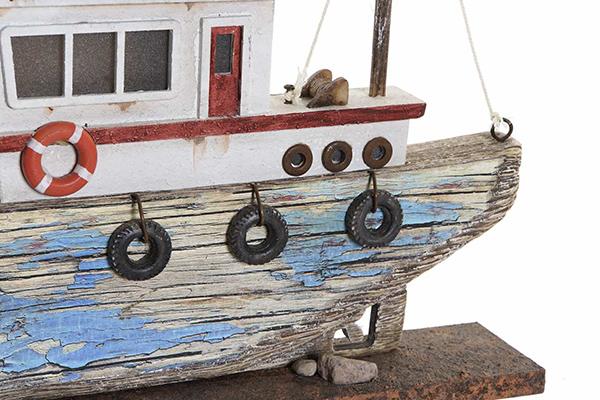 Led dekoracija brod 40x5x24