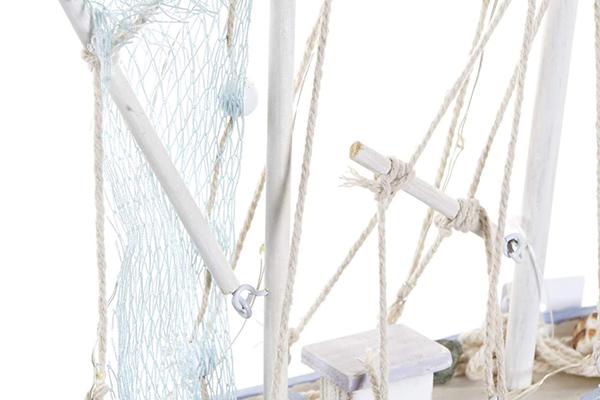 Led dekoracija brodić 19x5,5x29,5