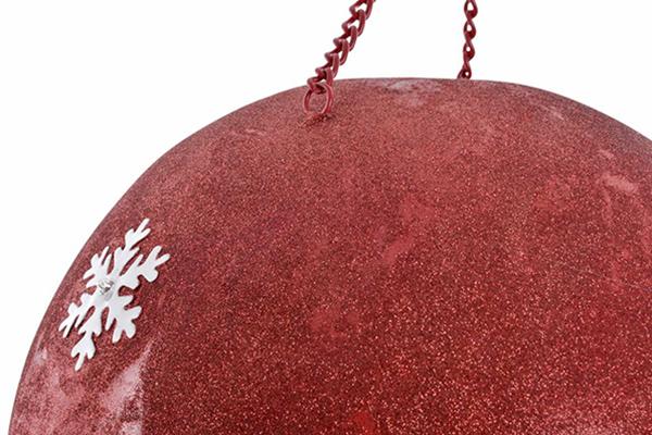Led figura balloon red 30x30x54