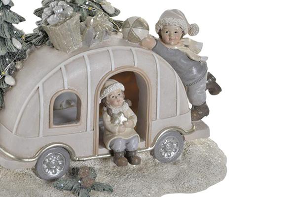 Led figura karavan 18x12x16