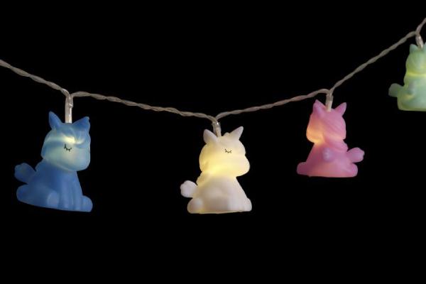 Led girlanda unicorn 4x6x130