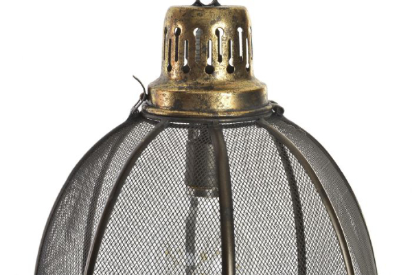 Led luster metalic black 26x26x29