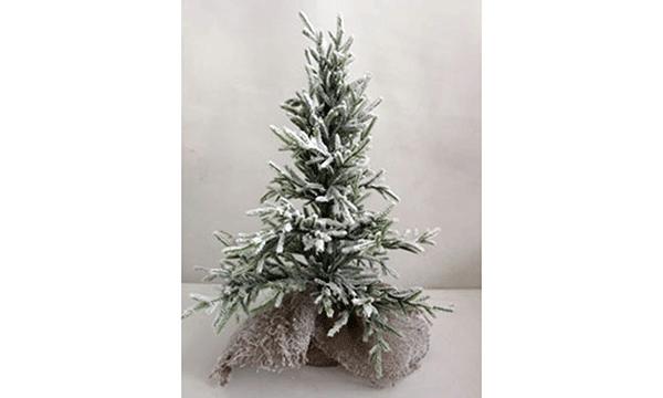 Led novogodišnje drvo snowed green 25x45