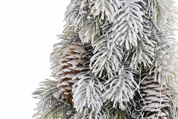 Led snežno drvo 17x17x50