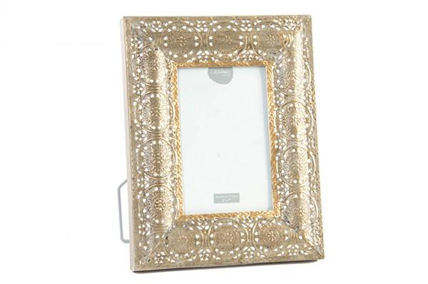 Metalni ram golden 10x15