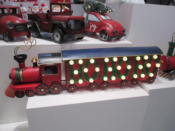 Novogodišnji voz ho ho ho 68x12x23