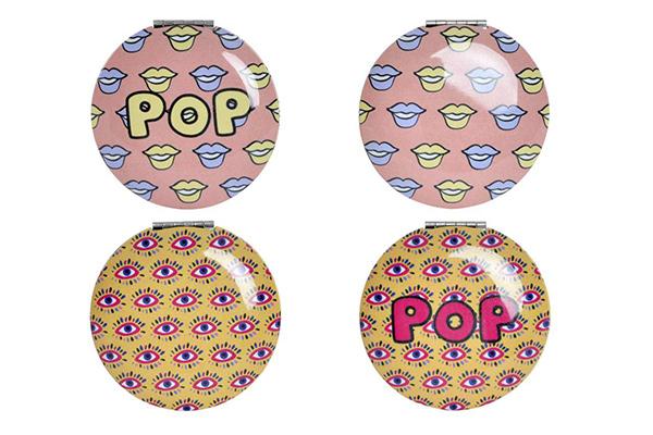 Ogledalce pop art 7x7x1,3 4 modela