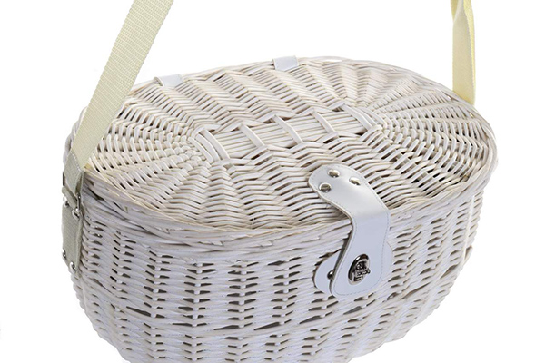 Ovalna korpa za piknik 39x28x18