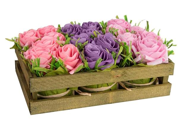 Papirna cvetna dekoracija 24x16x9,5