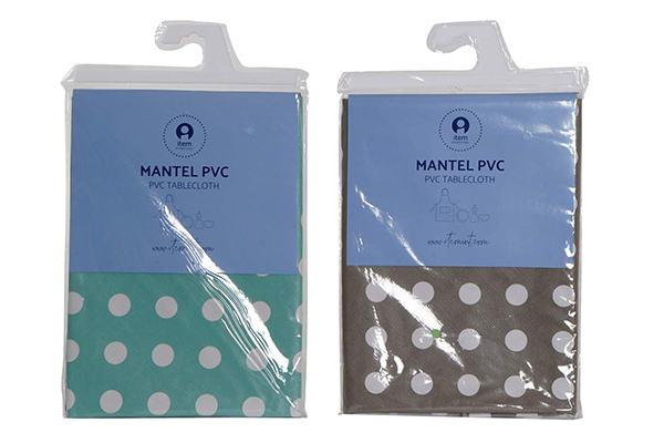 Plastični stolnjak / mušema tufne 140x140 0,01 2 boje